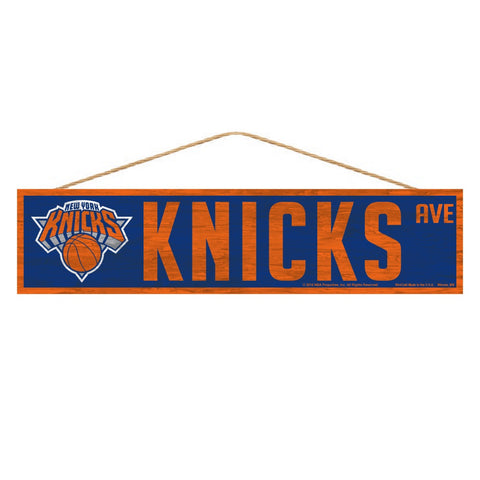 New York Knicks Sign 4x17 Wood Avenue Design