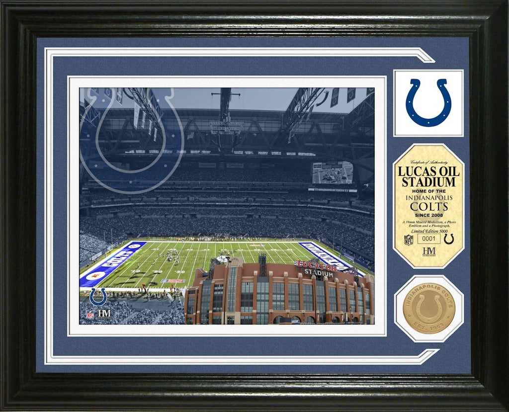 Indianapolis Colts Single Coin Stadium Photo Mint