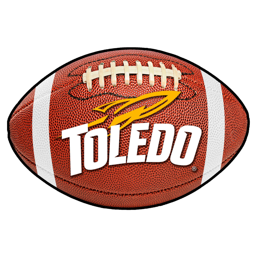 "University of Toledo Football Mat 20.5""x32.5"""