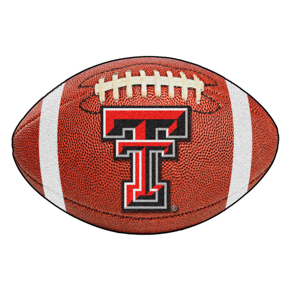 "Texas Tech University Football Mat 20.5""x32.5"""