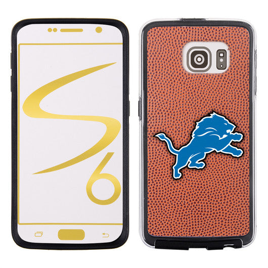 Detroit Lions Classic NFL Football Pebble Grain Feel Samsung Galaxy S6 Case