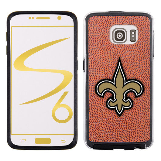 New Orleans Saints Classic NFL Football Pebble Grain Feel Samsung Galaxy S6 Case