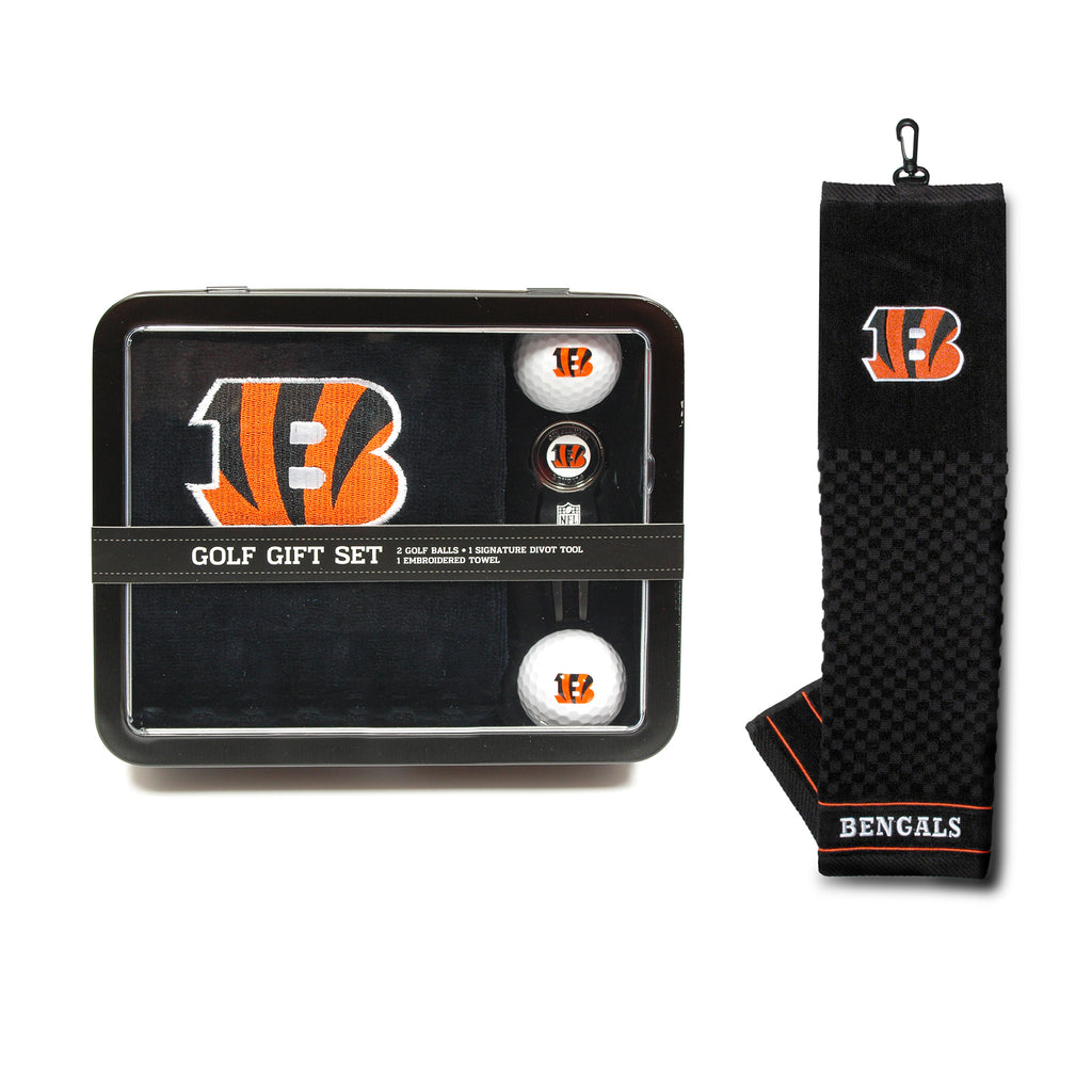 Cincinnati Bengals Golf Gift Set with Towel