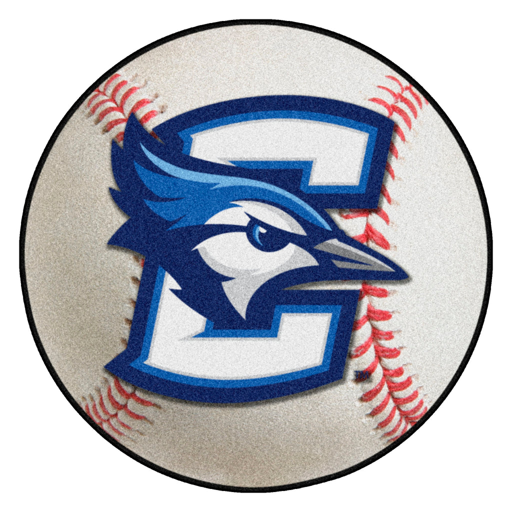 "Creighton University Baseball Mat 27"" diameter"