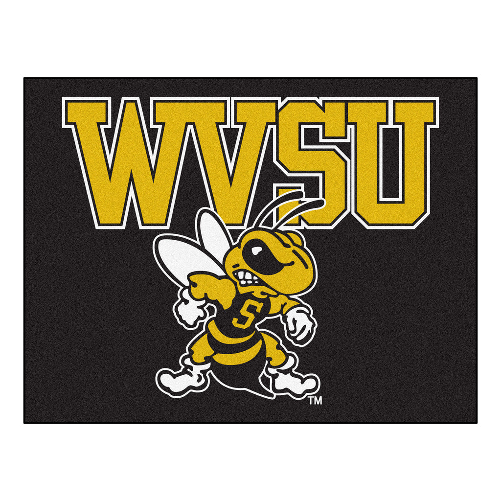 "West Virginia State University All-Star Mat 33.75""x42.5"""
