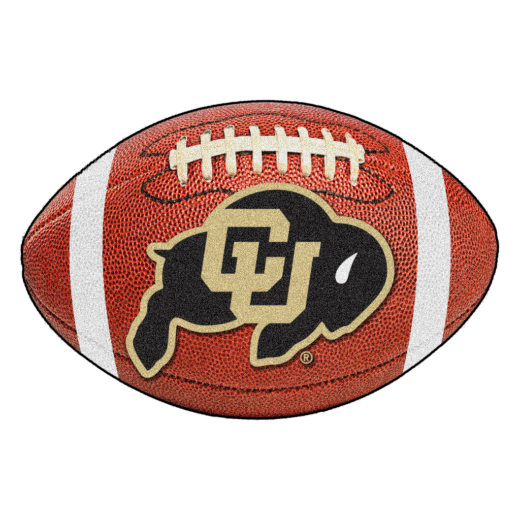 "University of Colorado Football Mat 20.5""x32.5"""