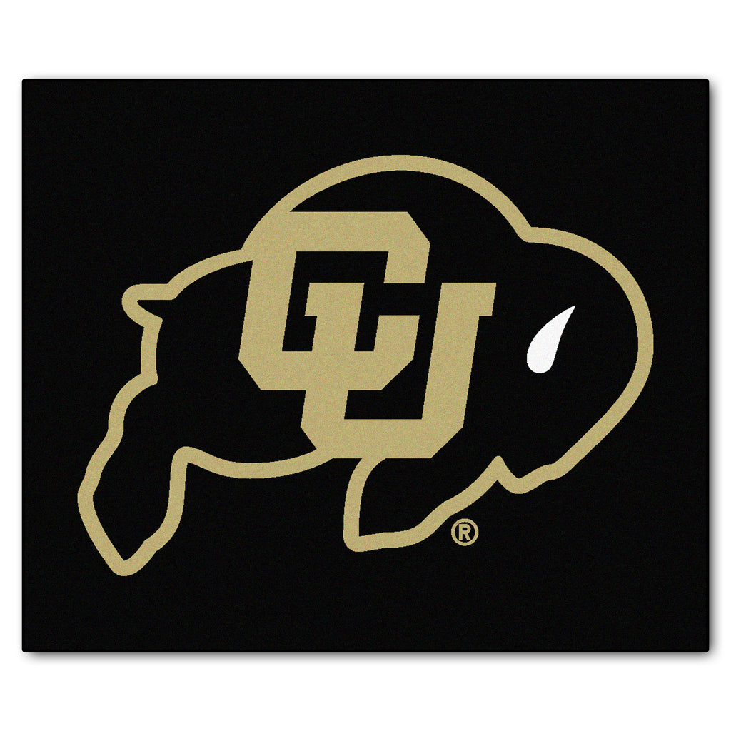 "University of Colorado Tailgater Mat 59.5""x71"""