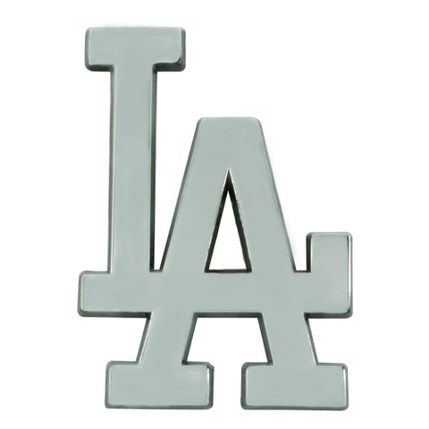 Los Angeles Dodgers Auto Emblem Premium Metal Chrome