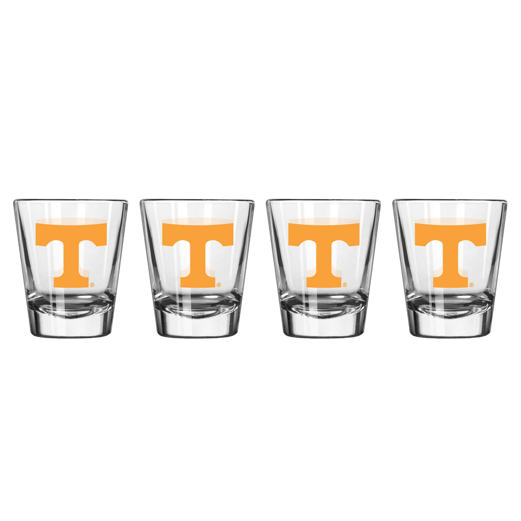 Tennessee Volunteers Shot Glass - 2 Pack Clear