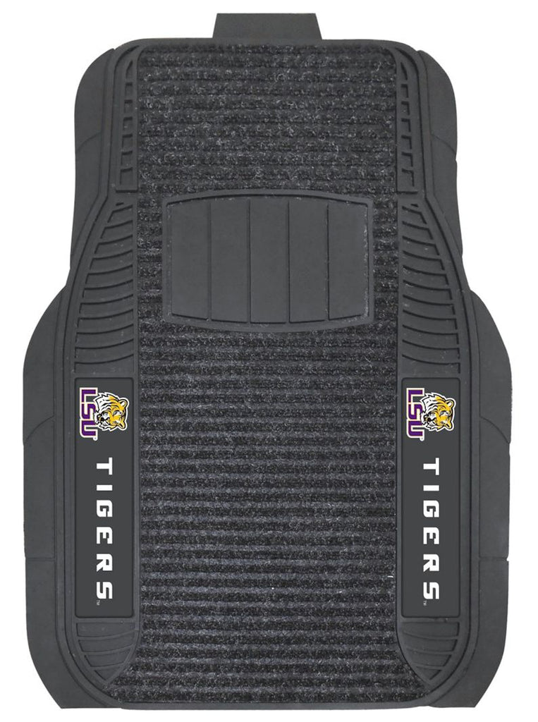 LSU Tigers Car Mats - Deluxe Set - Special Order