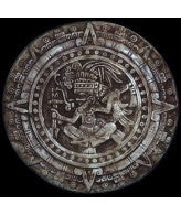 Aztec Maya Inca Calendar Plaque- Antique Stone