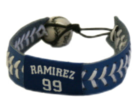 Los Angeles Dodgers Bracelet Team Color Baseball Manny Ramirez