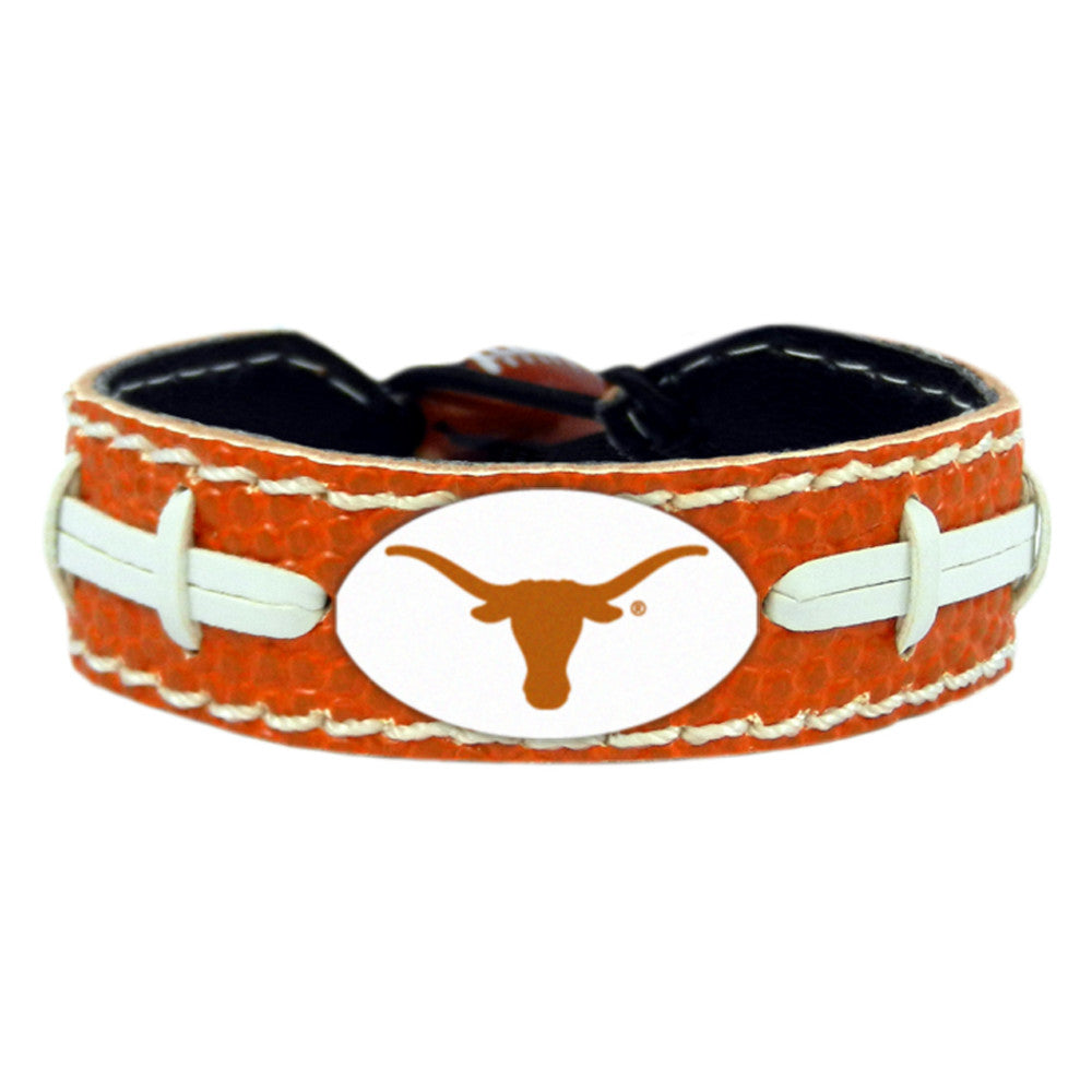 Texas Longhorns Bracelet - Team Color Football