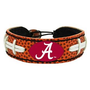 Alabama Crimson Tide Bracelet Classic Football Alternate
