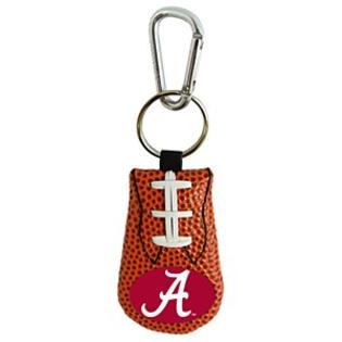 Alabama Crimson Tide Keychain Classic Football A Logo