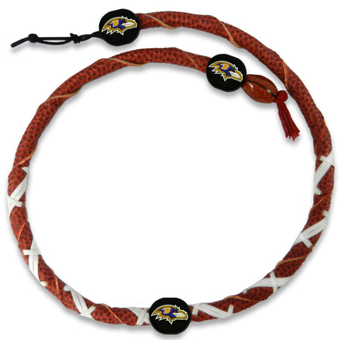 Baltimore Ravens Classic NFL Spiral Football Necklace