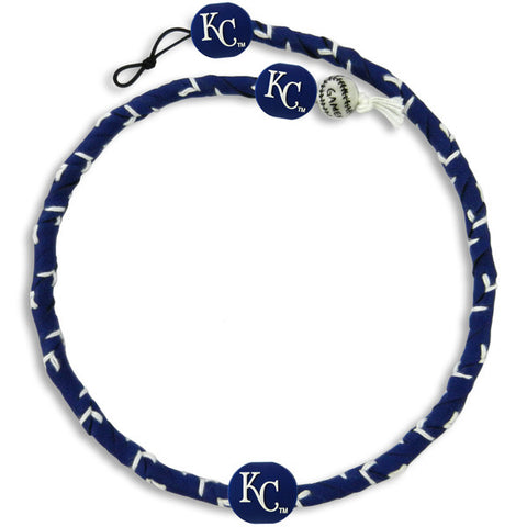 Kansas City Royals Team Color Frozen Rope Baseball Necklace