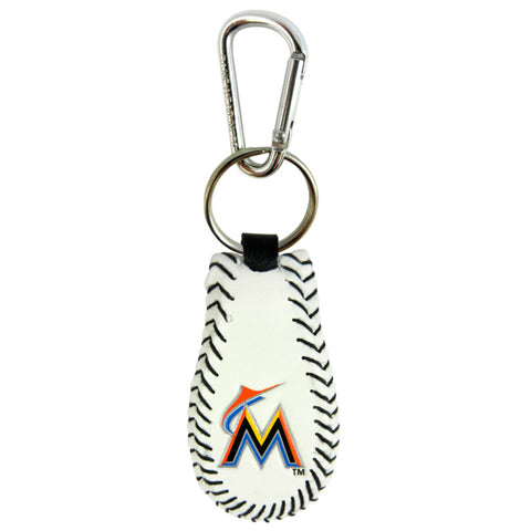 Miami Marlins Baseball Keychain
