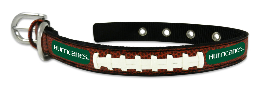 Miami Hurricanes Dog Collar - Small