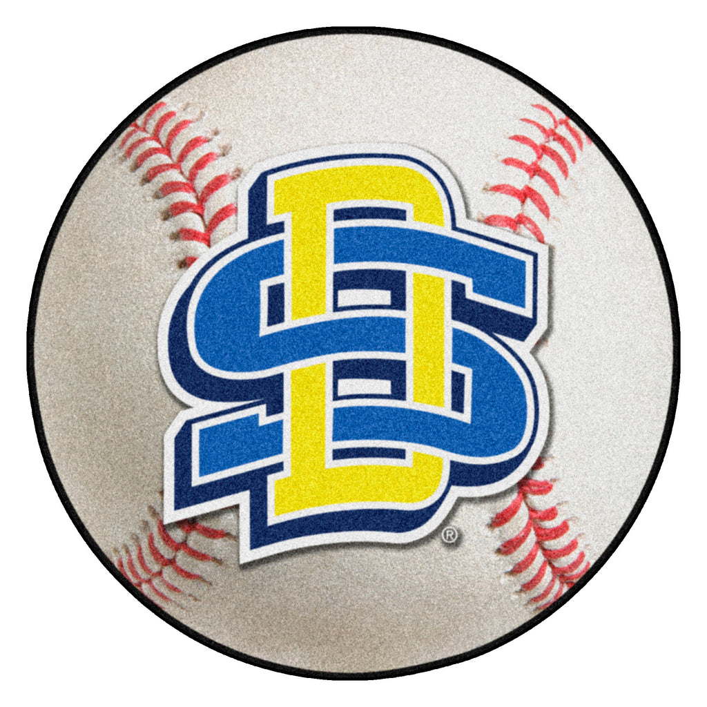 "South Dakota State University Baseball Mat 27"" diameter"