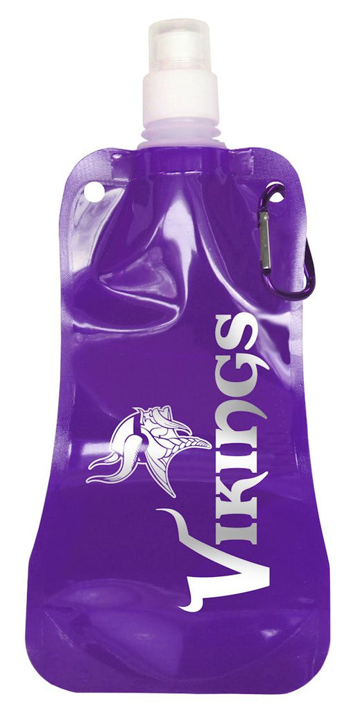 Minnesota Vikings 16 ounce Foldable Water Bottle