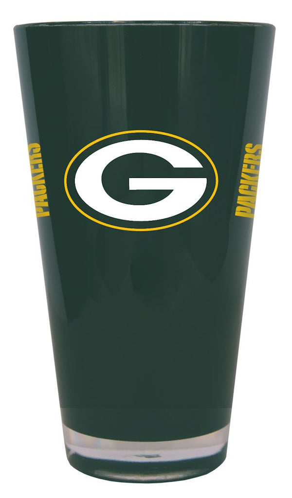 Green Bay Packers 20 oz Insulated Plastic Pint Glass