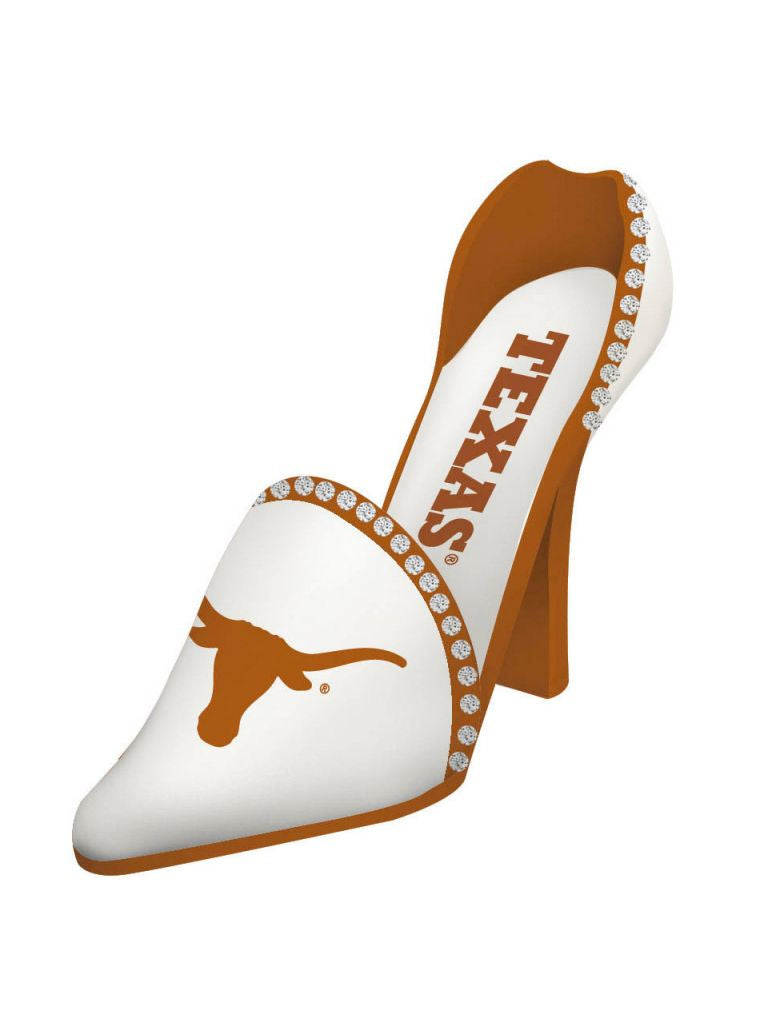Texas Longhorns Decorative Wine Bottle Holder - Shoe