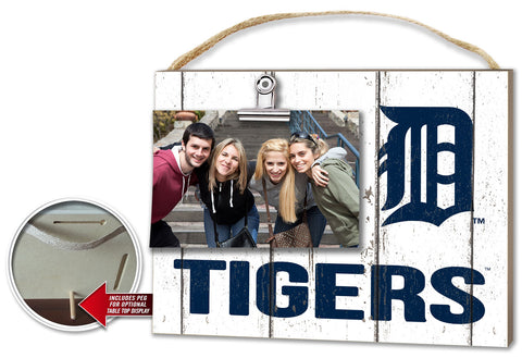 Detroit Tigers Clip It Weathered Logo Photo Frame