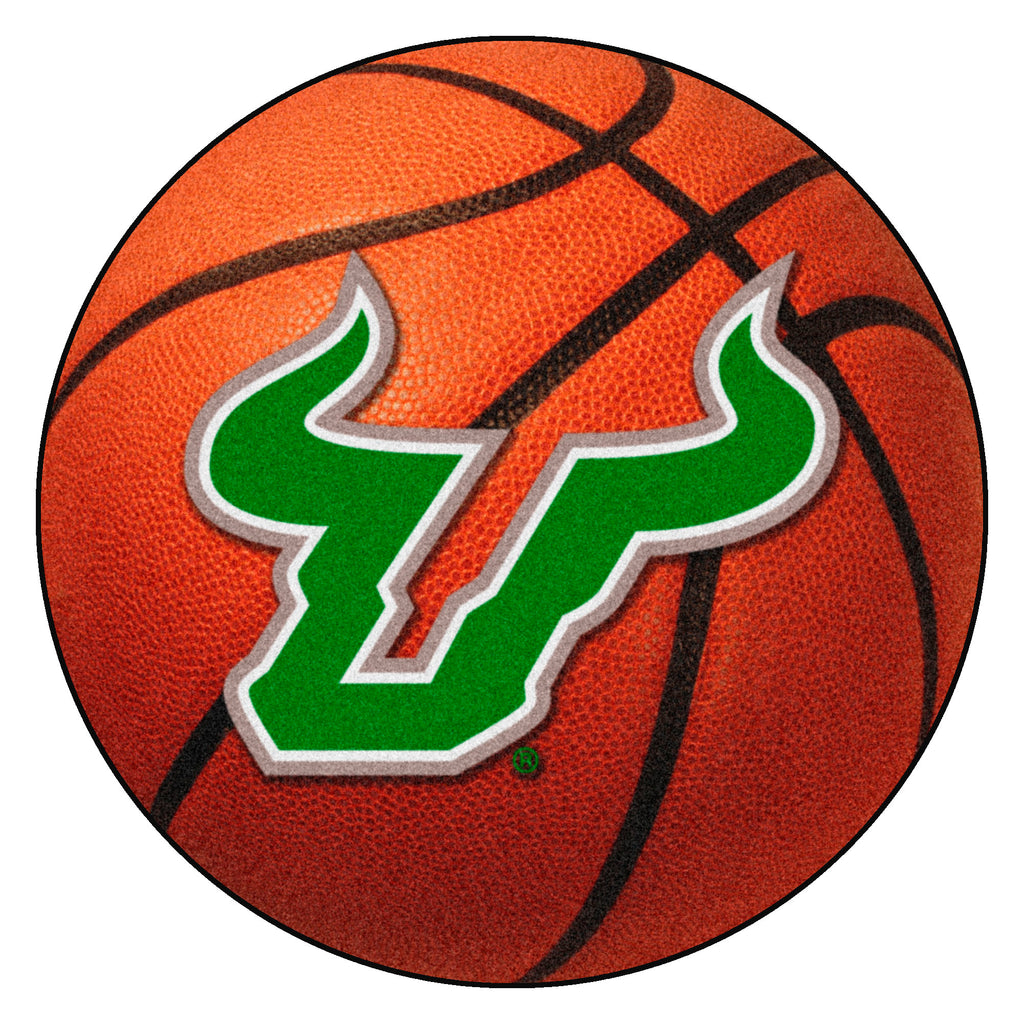 "University of South Florida Basketball Mat 27"" diameter"""