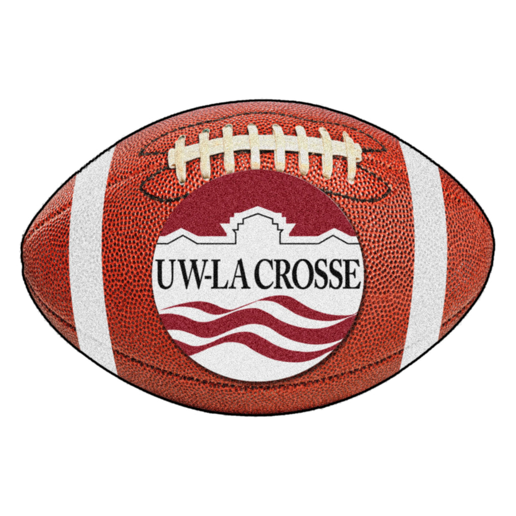 "University of Wisconsin-La Crosse Football Mat 20.5""x32.5"""