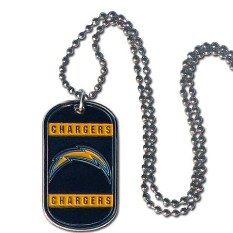 Los Angeles Chargers Necklace Tag Style