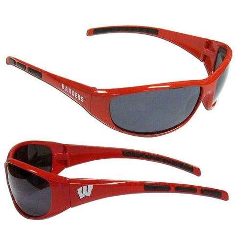 Wisconsin Badgers Sunglasses - Wrap