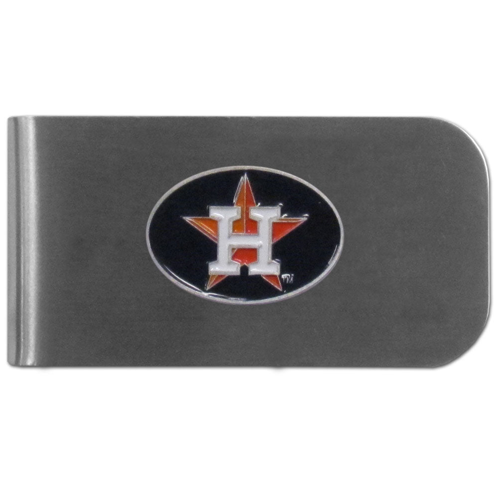 Houston Astros Money Clip Steel