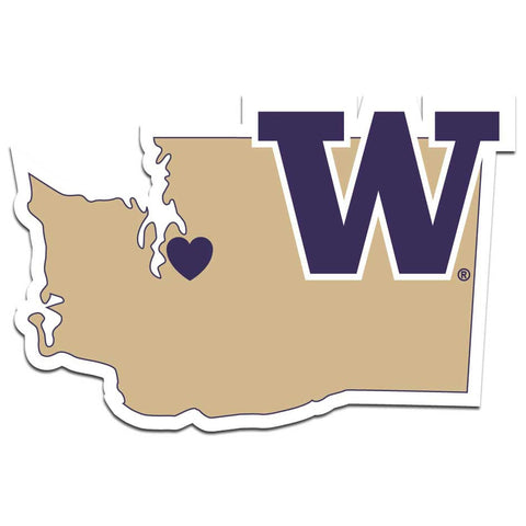 Washington Huskies Decal Home State Pride Style