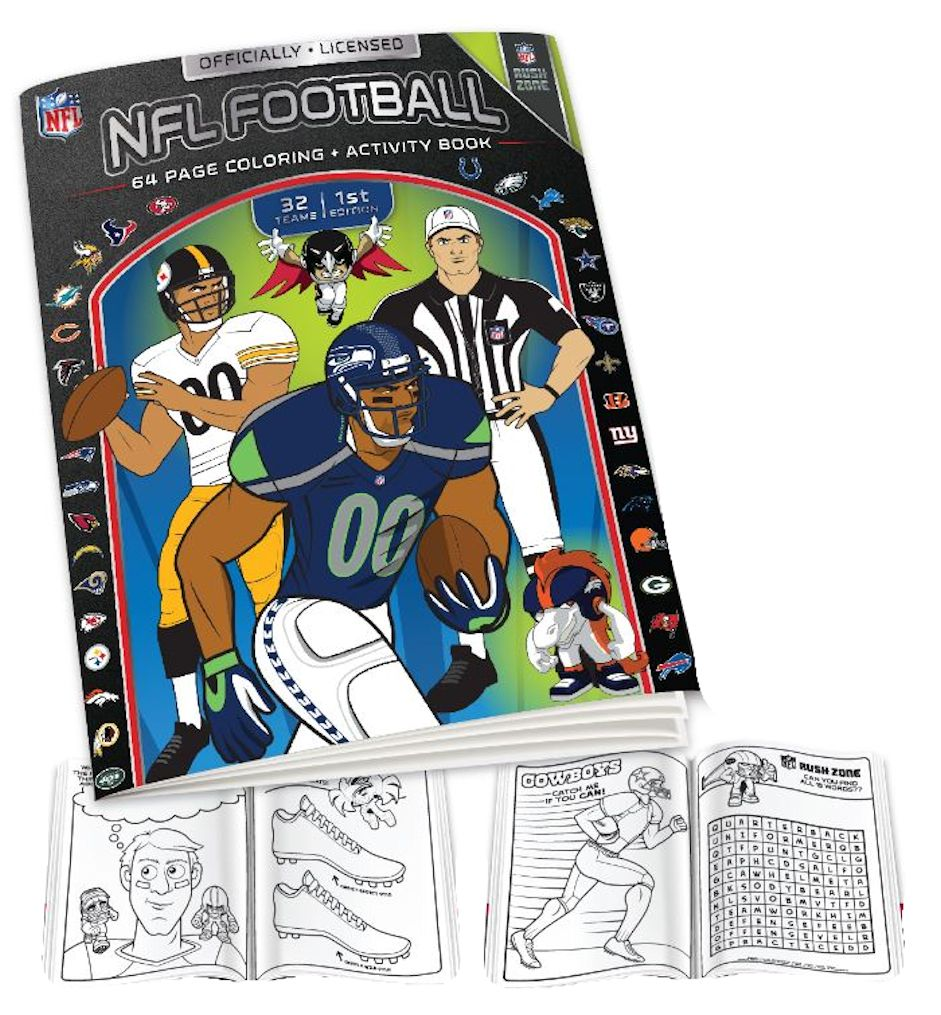 NFL Coloring Book