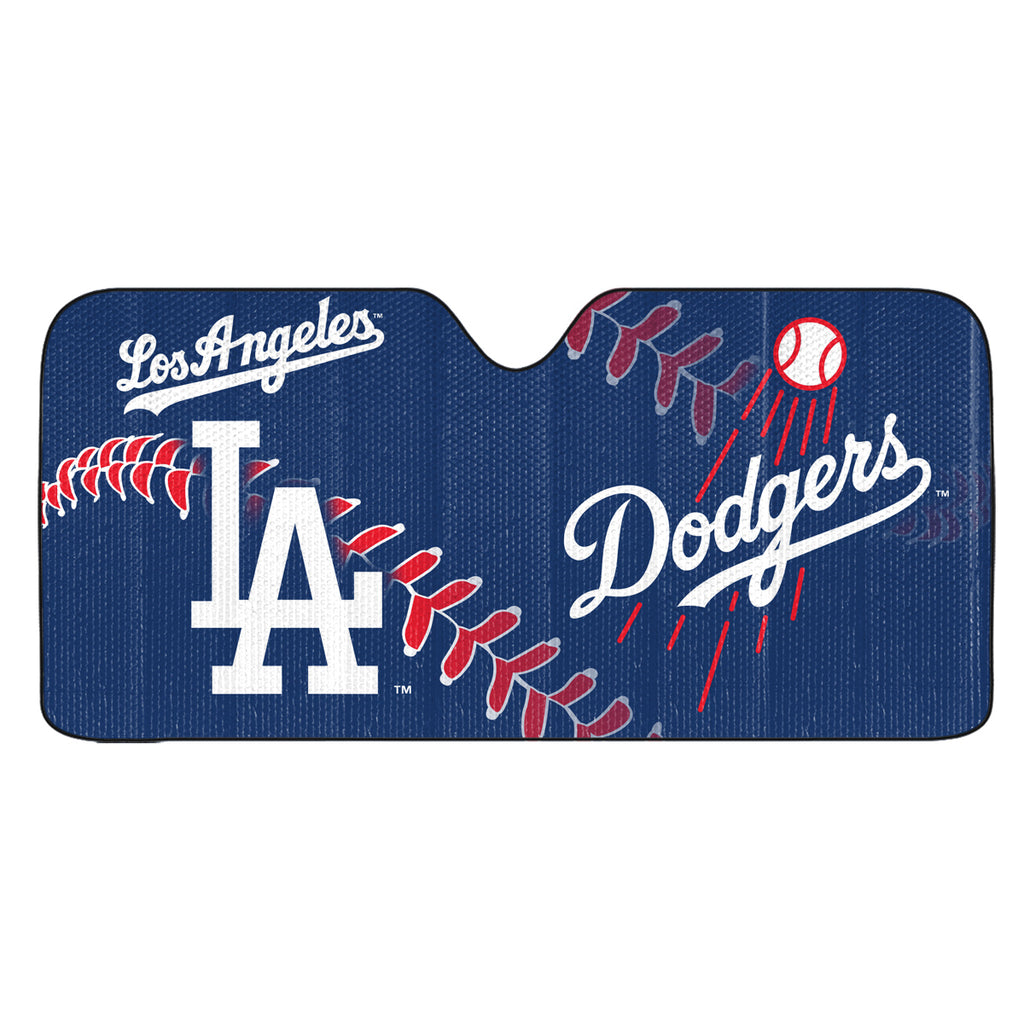 "MLB - Los Angeles Dodgers Auto Shade 59"" x 29.5"" - Primary Logo, Alternate Logo and Wordmark"