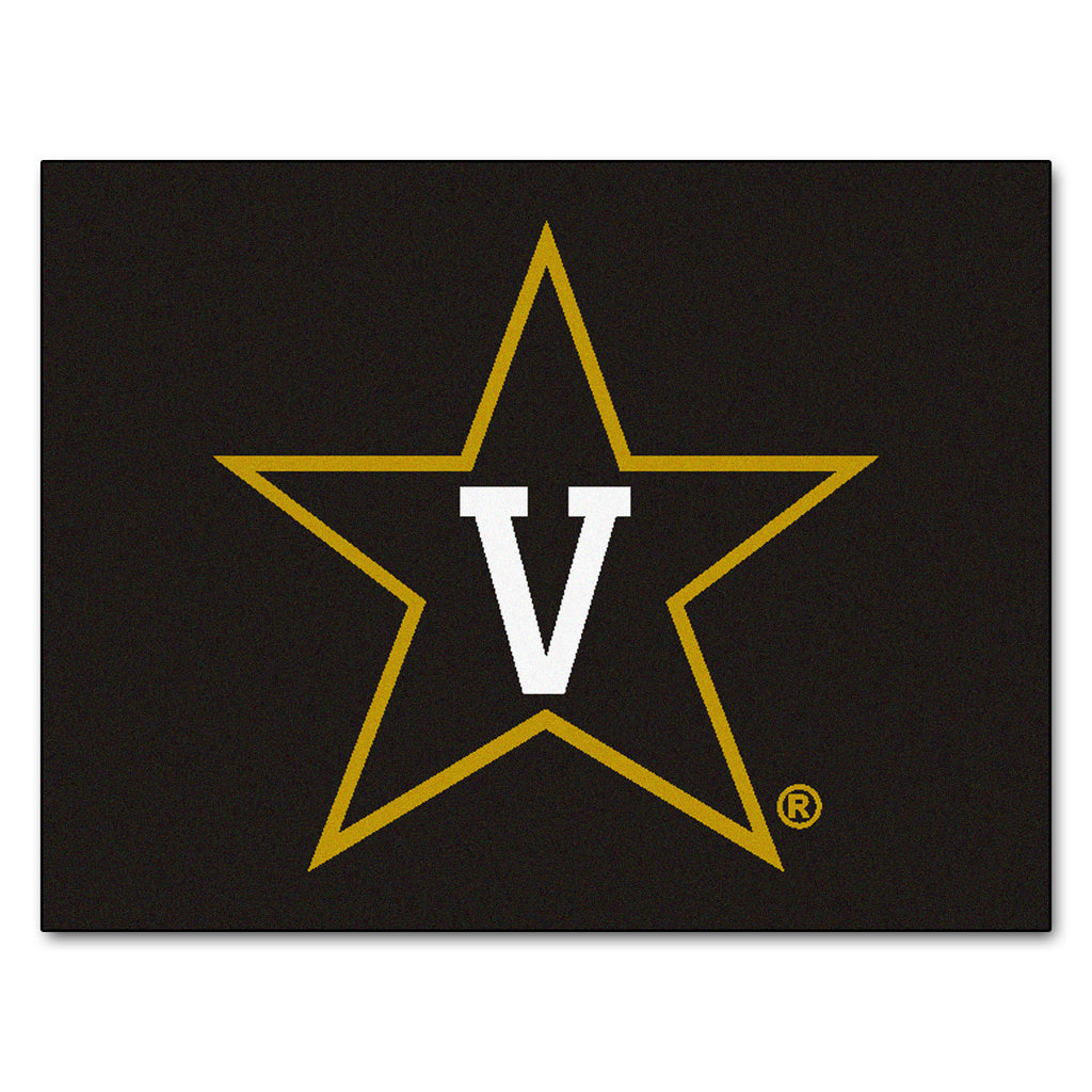 "Vanderbilt University All-Star Mat 33.75""x42.5"""