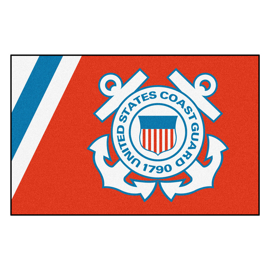 "U.S. Coast Guard Starter Mat 19""x30"""