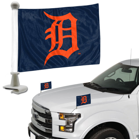 "MLB - Detroit Tigers Ambassador Flags 4"" x 6"" - ""Stylized D"" Primary Logo"
