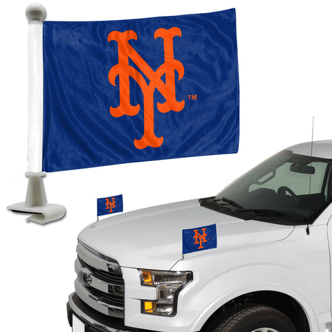 "MLB - New York Mets Ambassador Flags 4"" x 6"" - ""NY"" Alternate Logo"