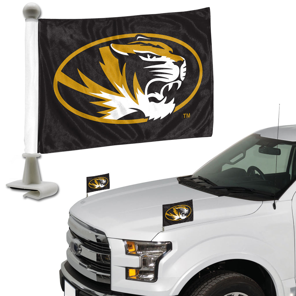 "University of Missouri Ambassador Flags 4"" x 6"" - ""Tiger Oval"" Primary Logo"
