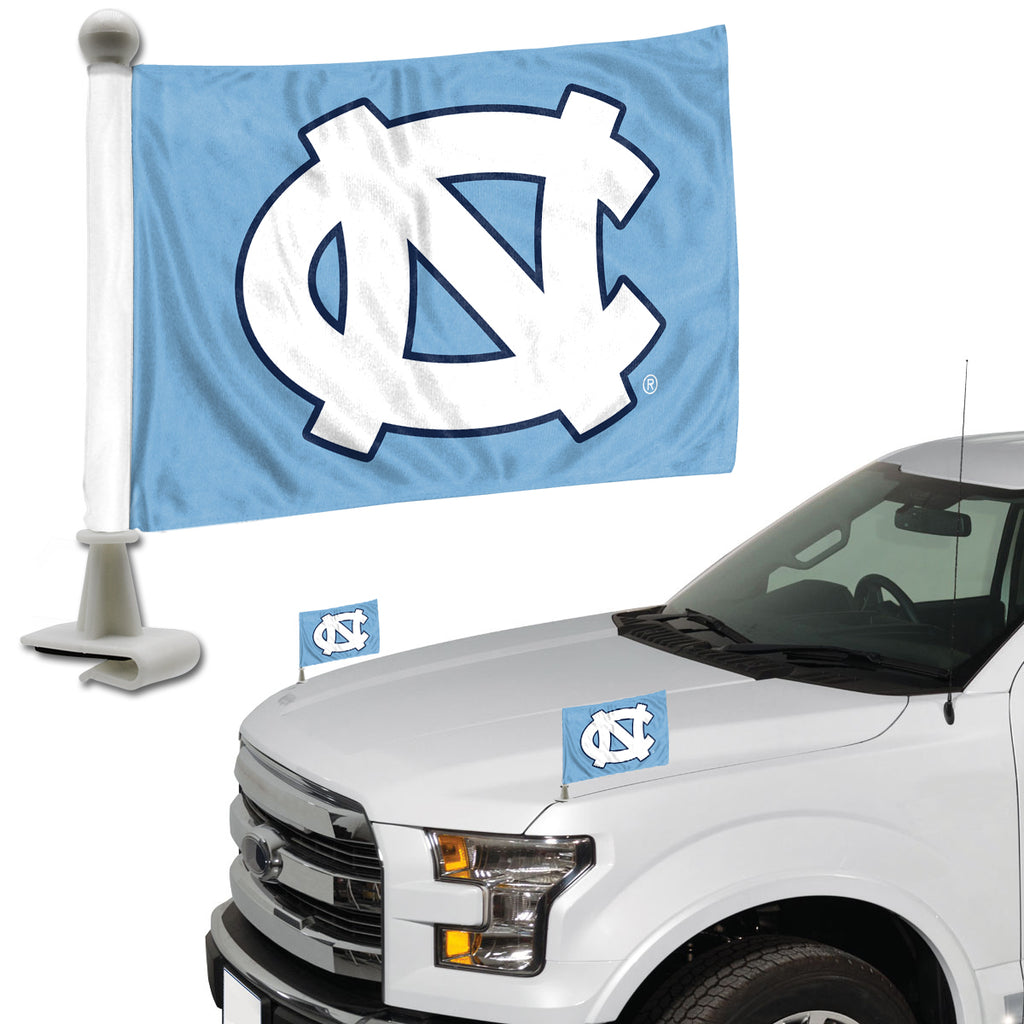 "University of North Carolina - Chapel Hill Ambassador Flags 4"" x 6"" - ""NC"" Primary Logo"