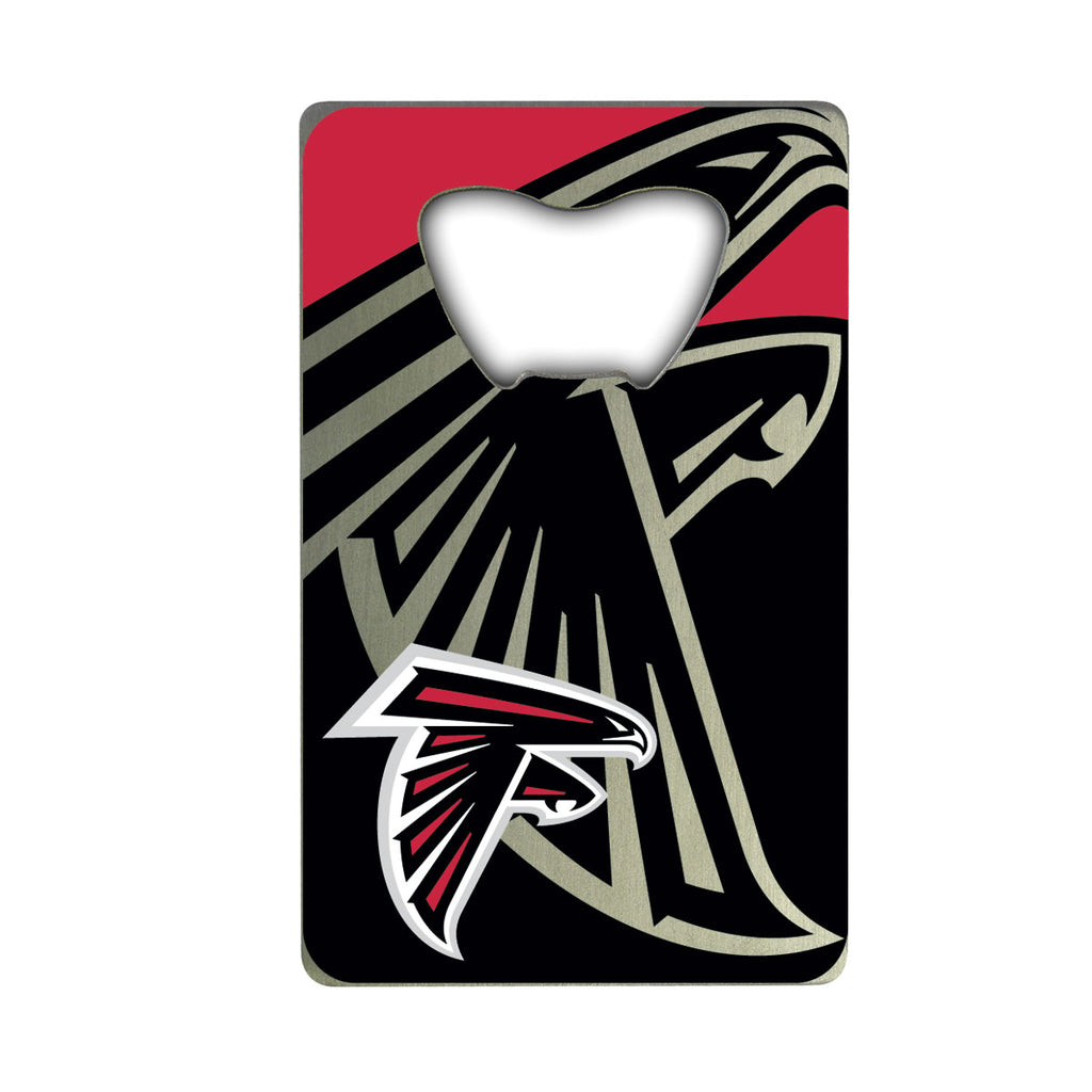 "NFL - Atlanta Falcons Credit Card Bottle Opener 2"" x 3.25 - Falcons Primary Logo"