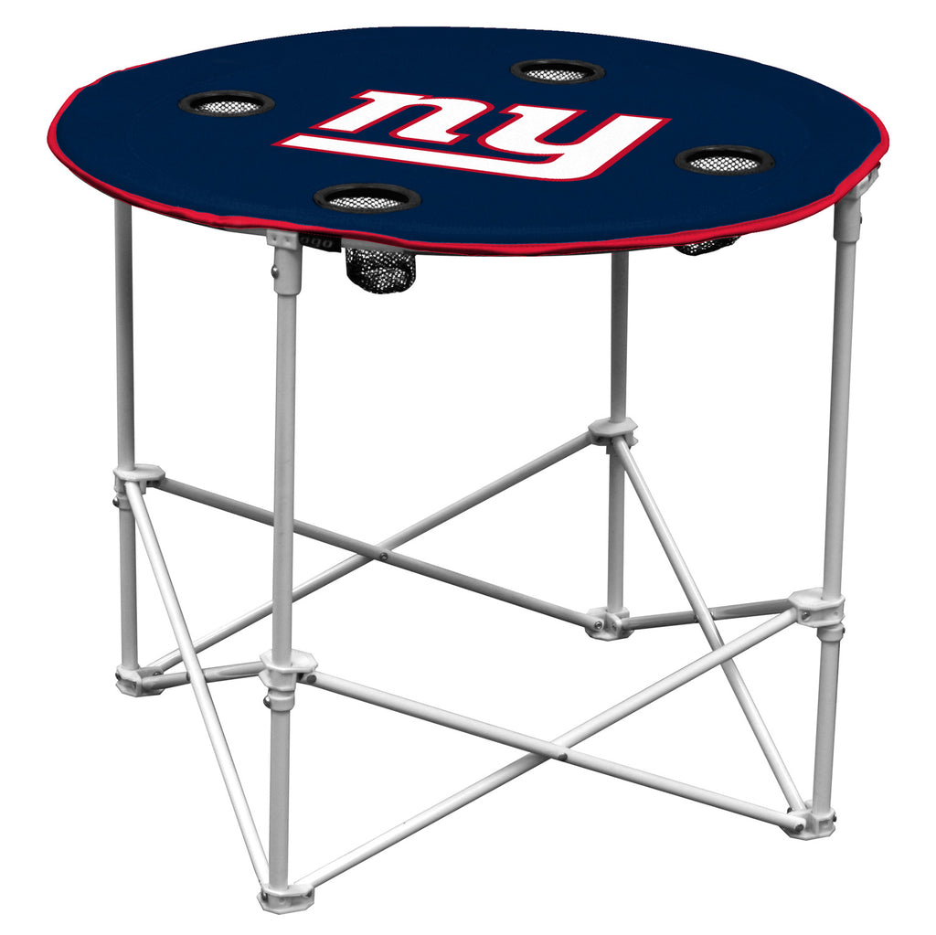 New York Giants Round Tailgate Table - Special Order