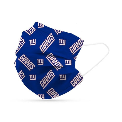 New York Giants Face Mask Disposable 6 Pack