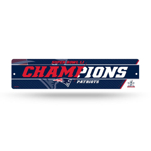 New England Patriots Sign Plastic Parking High Res Super Bowl 51 Champions