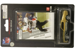 New Orleans Saints Marques Colston 1:64 Mustang with Trading Card