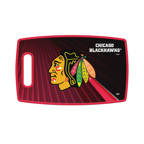 Chicago Blackhawks Cutting Board Large