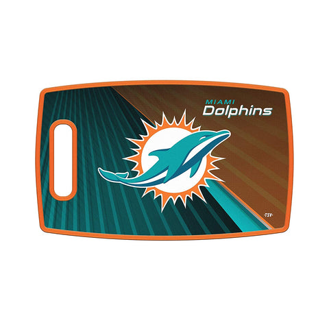 Miami Dolphins Cutting Board Large