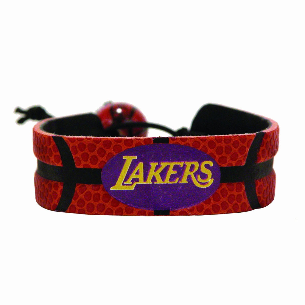 Los Angeles Lakers Classic Basketball Bracelet